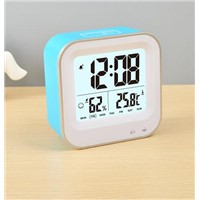 Hot style digital desktop electronic smart clock with Time/Thermometer/Hygrometer Display