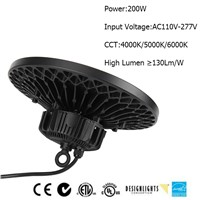 2016 Newest Style 200W LED UFO High Bay Light for Warehouse