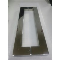 Square Pull Handle Stainless steel polished
