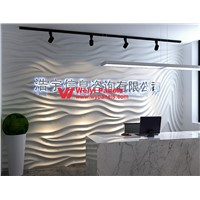 3D Wave Wall Panels-3D Wall Panels Background Wall WY-366