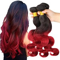Ombre Hair Extensions Brazilian Body Wave  3Bundles for beauty, personal care