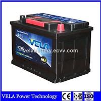 Top Selling Good Design DIN74 MF Lead Acid Car Battery For Car Starting