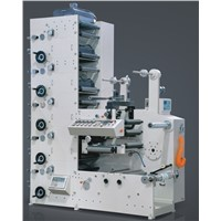 Flexo sticker label printing machine(Roll to roll)5colors