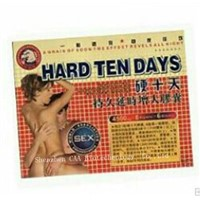 HARD TEN DAYS Male Enhancement Sex Pills Herbal Medicine