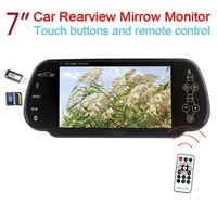 7'' Car Rearview Mirrow Monitor with USB SD MP5 Bluetooth FM Transmitter (L720)