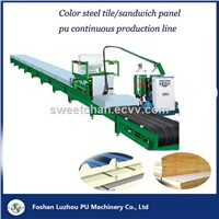 Sandwich Panel PU Foaming Continious Production Line
