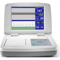 Fetal Doppler Monitoring Medical Devices , ICU Vital Signs Monitor CTG Thermal Printer