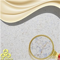 JW-6867 Finland-Contact with food safe Artificial Quartz Stone Slab for countertop