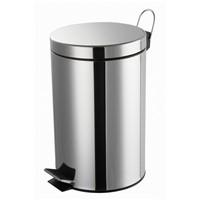 5L Stainless steel pedal bin, dustbin, waste bin