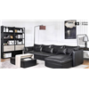 China Lizz Furniture European Modern Style Leather Sofa