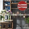 Christmas New arrival flower triangle beautiful mosaic patterns for wall decoration