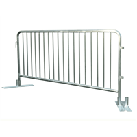Hot-Dipped Crowd Control Barriers with Customize Feet