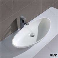 2016 Acrylic solid surface bathroom wash basin