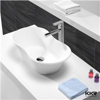 Kingkonree newly design acrylic solid surface basin