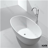 Factory Price 52 Inch Solid Surface Freestanding Corian Bath Tub