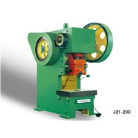 J21-200T Automatic power press for steel metal processing