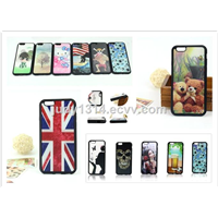 Mobile Phone Case Custom Design 3D Sublimation Imd Printing Soft TPU Case for iPhone 6 6s Plus