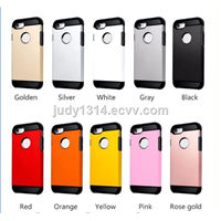 New 360 Degree Electroplating Full Mobile Cell Phone Case for iPhone 6 6s 7 Plus