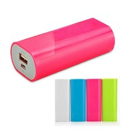 Candy portable power source, 4000mAh to 5200mAh