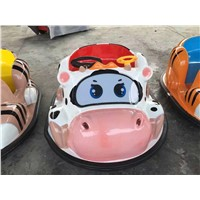 Coin Operated kid rider machine Bumper car  for two kids
