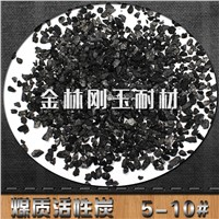 Granular activated carbon from coal