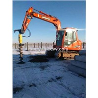 Hydraulic earth auger price for excavator used