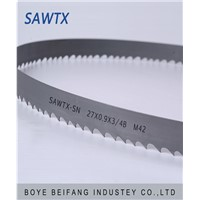 SAWTX-SD M42 bimetal band saw blade for metal cutting