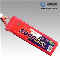 14.8V 5000mAh High Rate Discharge Lipo Battery Pack, Jump Start Battery, R/C Battery
