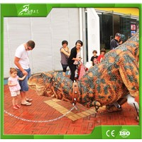 Adult Realistic Life Like Dinosaur Costume For Exhibition