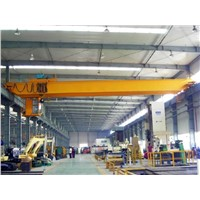 Hot Selling Workshop Used LH Double Girder Bridge Crane 5t