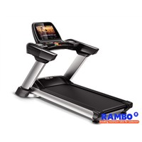 "15.6"" Color Screen commercial Flagship Motorized Treadmill"