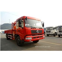 China factory 4*2 Euro4 7 ton  high quality truck mounted crane