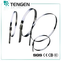 Ball Locked PVC coated Stainless Steel cable tie