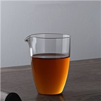Fair Glass Cup Tea Set Glass Cup with Spout