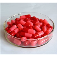 Empty Hard Gelatin Capsule Shells Red Size 2 4