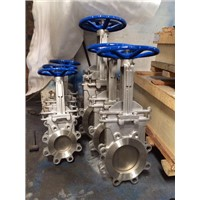 JIS10K Manual Knife Gate Valve