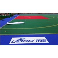 PP Interlocking Indoor Outdoor Sports Flooring, Suspended Assembled Floor