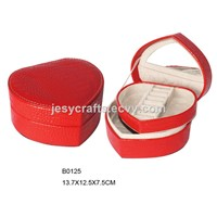 Heart Shape Promotional Jewelry Case