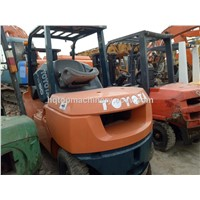 Used Secondhand Toyota 5T Forklifts Stocks For Sale Resonable Price