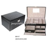 Fabulous Stitching Jewelry Box(B0117)