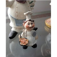 Chef Sculpture Home Decoration Figurine Garden Decoration