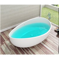 Acrylic Freestanding Bathtub (Onda) Factory & Manufacture
