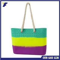Professional Manufacturer Custom Fashion Ladies Silicone Handbag