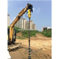 Manufacturer Supplier Excavator Hydraulic Earth Drilling Auger for Construction Machinery