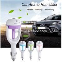 LED Lighting Aroma Oil Diffuser/ Electric Essential Oil Diffuser USB Car Air Humidifier