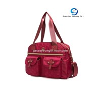 Fashion Newly Designed Ladies Handbags Nylon Tote Bag