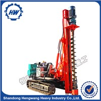 HZD-300L Static 3m Crawler Type Screw Pile Driver
