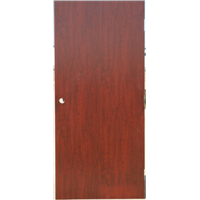 WH 30 45 90 Mins Wood Fire Door Solid Wood MDF Mineral Fire Board Veneer Steel Frame