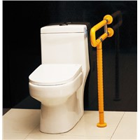 Toilet PVC Disabled Grab Bar