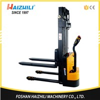 Warehouse Use Equipment 1.5 Ton / 1500kg 1.6m Battery Power Electric Pallet Stacker